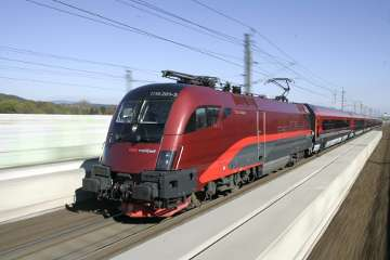 A to B Austria - Railjet High Speed Train