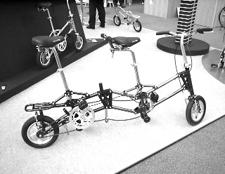 Cycle 2002, Gekko folding tandem bike