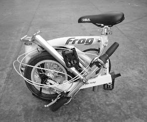 r-and-m-frog-folding-bike-folded