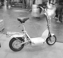 A to B magazine, Bike Show, Ebryo Scooter