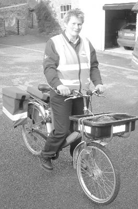 Mailstar Delivery Bike