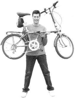 A to B magazine, Uri Geller Folding Bike