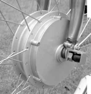 Ezee Spring Electric Bike - Hub