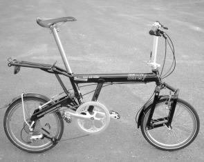 Birdy Black Folding Bike