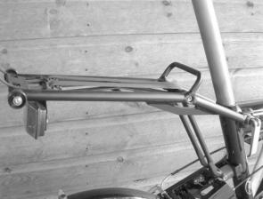 Birdy Black Folding Bike Rack