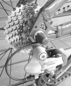 Oyama Victor Folding Bike Gears
