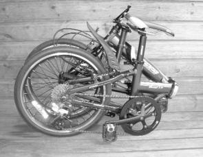 Oyama Victor1.0  Folding Bike Folded