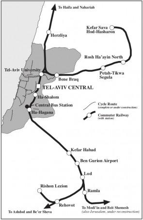 Tel-Aviv Map