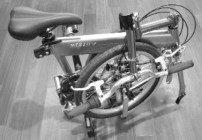 A to B, CYCLE 2004, Mezzo Folding Bike