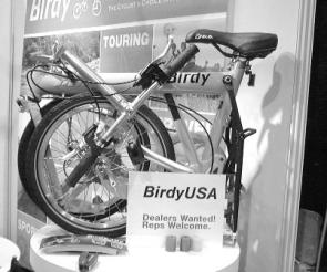 A to B magazine, Interbike Las Vegas, Birdy