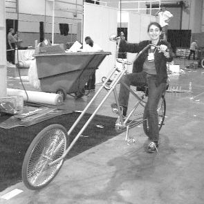 A to B magazine, Interbike Las Vegas, Double D Chopper
