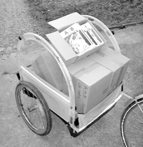 Winchester bicycle trailer