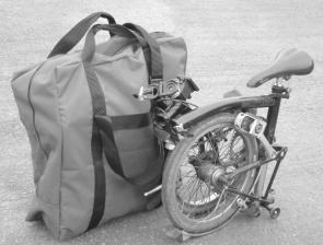 Bigfoot Brompton Bag