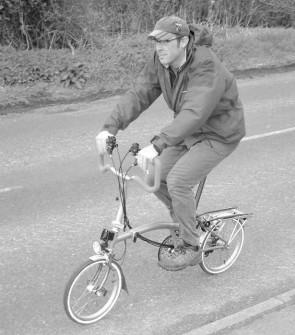 Brompton P6R-XDL Folding Bike