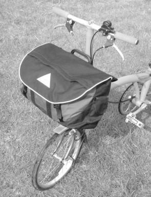 Brompton S2LX Folding Bike S-bag