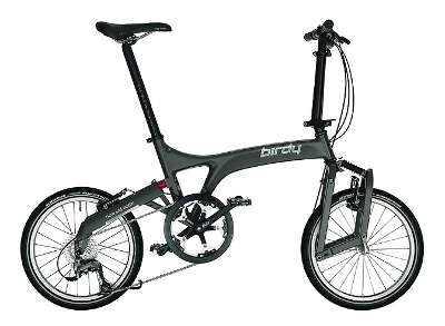 birdy Anthracite folding bike Folding Bike Buyers Guide (UK)