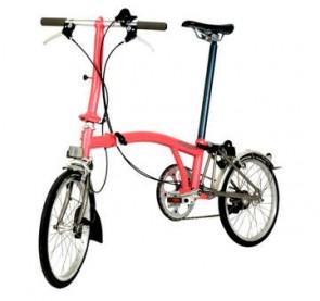A to B folding bike - Brompton