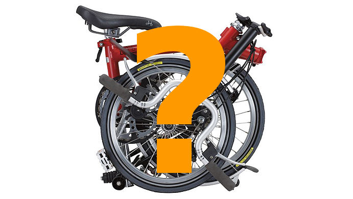 brompton folding bike why fold Why choose a folding bike?