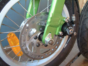 mobiky genius disk brake Sinclair A Bike v Mobiky Genius