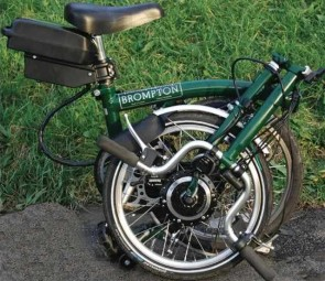 Brompton Sparticle Folding Electric Bike