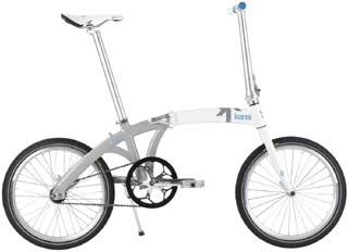 A to B folding bike - Kansi 1Twenty