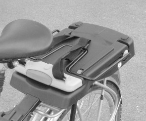 Bobike Junior Child Seat Folded