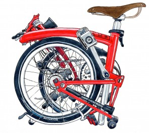 brompton-bicycle-print