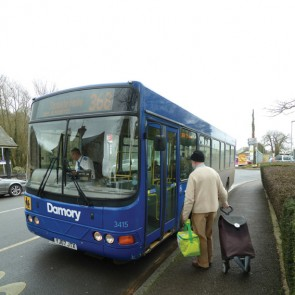 368 bus at Sherborne
